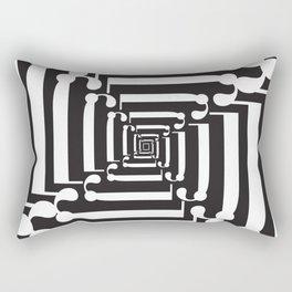 "Spin - The Didot ""j"" Project Rectangular Pillow"
