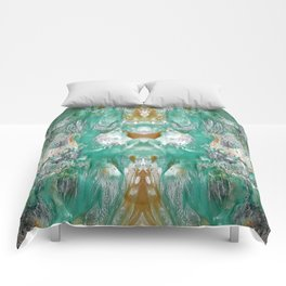 Marbled Dream Comforters