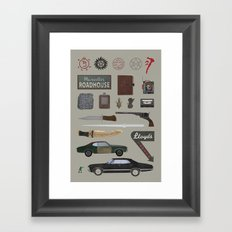 Supernatural (2015) Framed Art Print