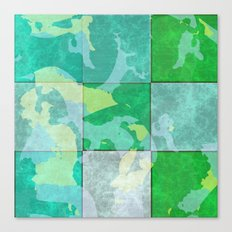 Tiled abstract Canvas Print
