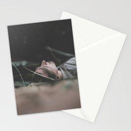 55 / Outdoor meditation Stationery Cards