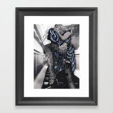 Psychoactive Bear 6 Framed Art Print