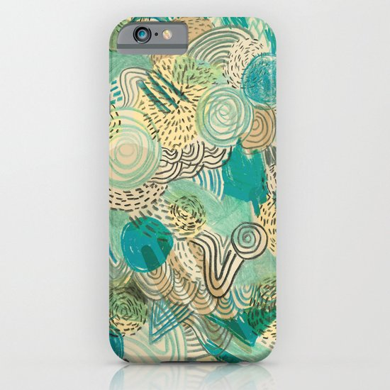 Holidays at the pool iPhone & iPod Case
