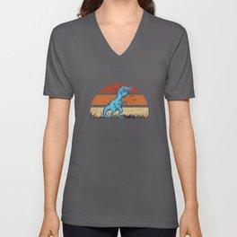 Funny Dinosaur Gift Unisex V-Neck