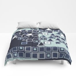 Abstract Composition 341 Comforters