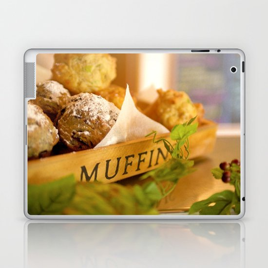 Muffins, fresh and warm, thanks Mom! Laptop & iPad Skin