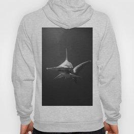 Hammerhead Shark (Black and White) Hoody