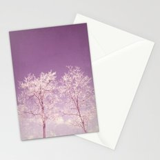Winter's longing ~ Abstract  Stationery Cards