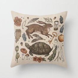 Myth Throw Pillow