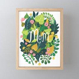 Floral Mom Framed Mini Art Print