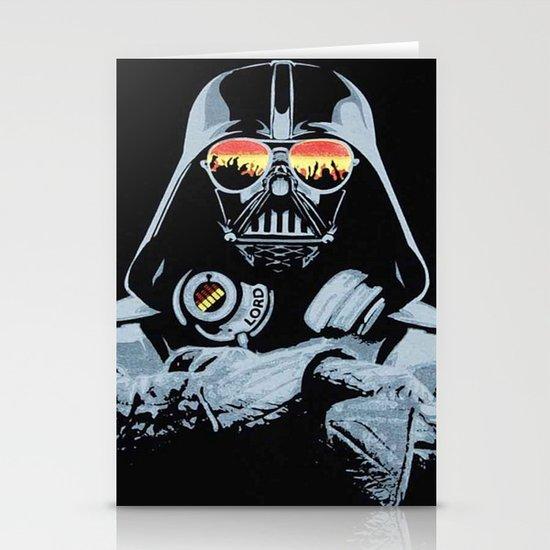 DJ Darth Vader Stationery Cards