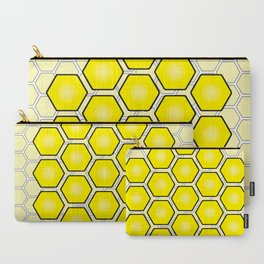 Save the Bees Design Three Carry-All Pouch