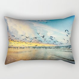 Morning Flight Rectangular Pillow