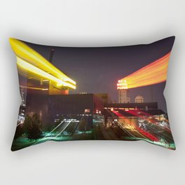 This City Moves Rectangular Pillow