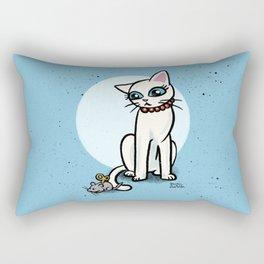 Toy mouse Rectangular Pillow