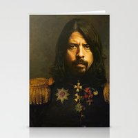 mario Stationery Cards featuring Dave Grohl - replaceface by replaceface