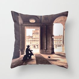 adagio parisienne Throw Pillow
