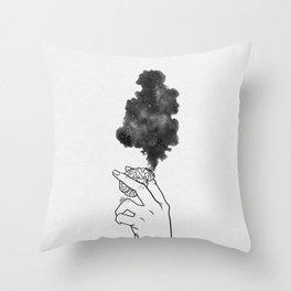Burning mind. Throw Pillow