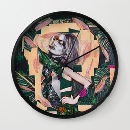 The Jungle inside of me Wall Clock