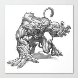 The Ridgeback Cougarwolf Canvas Print