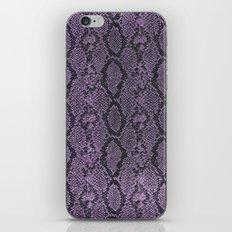 Purple Glitter Snakeskin iPhone & iPod Skin