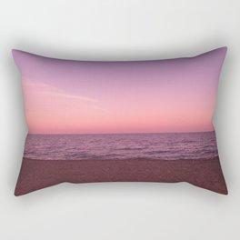 Sunset in Camini Rectangular Pillow