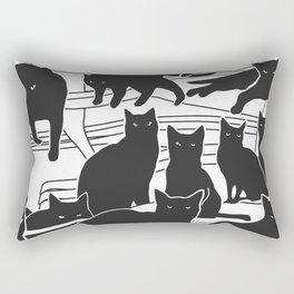 Black cats Rectangular Pillow