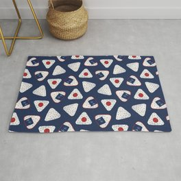 Japanese Rice Ball / Onigiri (おにぎり) Rug