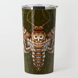 Deaths-Head Moth Travel Mug