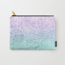 Mermaid Girls Glitter #1a (2019 Pastel Version) #shiny #decor #art #society6 Carry-All Pouch