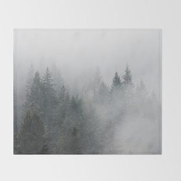 Long Days Ahead - Nature Photography Throw Blanket
