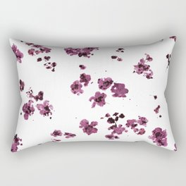 MULBERRY FLORALS Rectangular Pillow