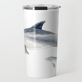 Bottlenose dolphin Travel Mug
