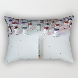 """Daily medicine"" Rectangular Pillow"