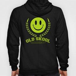 Old Skool Academy Rave Quote Hoody