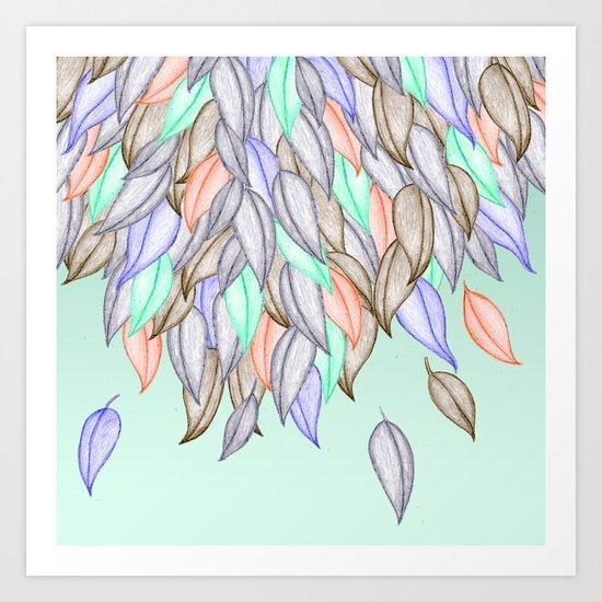 CRAYON LOVE  - A Different Nature Art Print