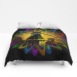 Windmills - Greetsiel Comforters