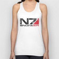 engineer Tank Tops featuring Alt Engineer by Draygin82