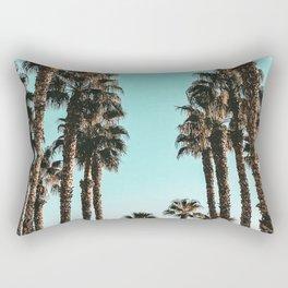 Palm Tree Days {1 of 2} Tropical Cali Art Print Rectangular Pillow