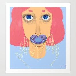 Nur-sir-ee Art Print