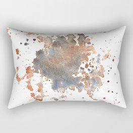 Paint Splotch Rectangular Pillow