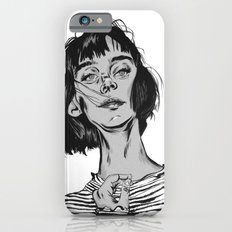 Woman in stripped shirt Slim Case iPhone 6s