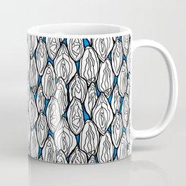 Vagina - Rama, White with Blue Coffee Mug