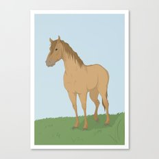 The Old Mare Canvas Print