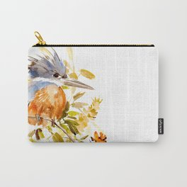 Belted Kingfisher home decor Carry-All Pouch