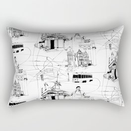 West Philadelphia Rectangular Pillow