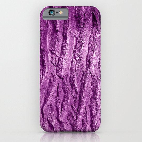 purple tree bark II iPhone & iPod Case