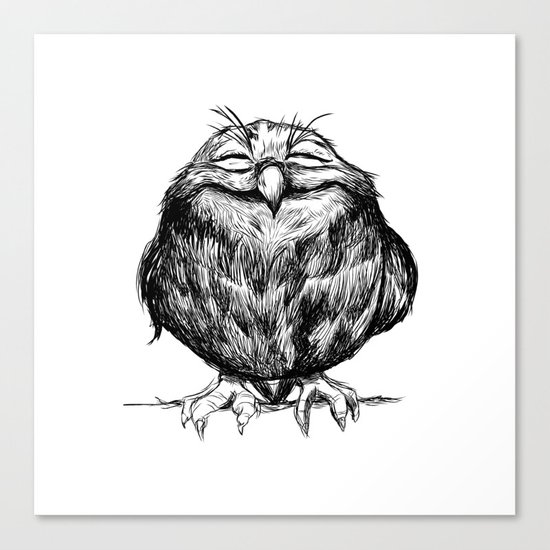 Owl Ball Canvas Print