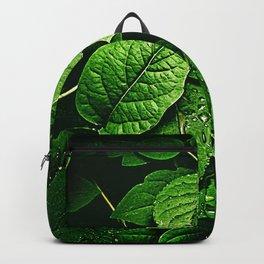 Greeen Leaf Backpack