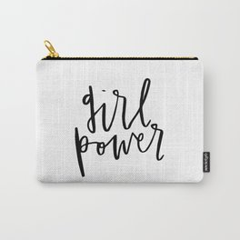 Girl Power Cursive Carry-All Pouch